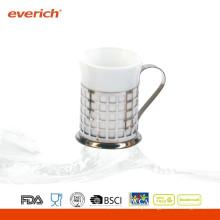 Caneca de café de cerâmica de viagem de baixo preço de alta qualidade