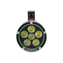 Linterna CREE U2 LED 5, 000 lúmenes con el interruptor magnético