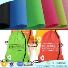 Spunbond-Polypropylen-nichtgewebtes Gewebe benutzt für Einkaufstaschen