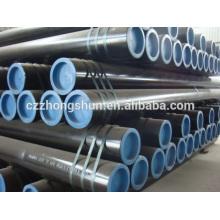 API 5L Tubo de acero sin costura ASTM A106 / A53 / SS400 / ST 37 / ST52