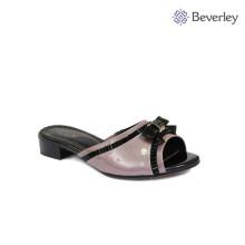 Беверли натуральная кожа низком каблуке женщин тапочки