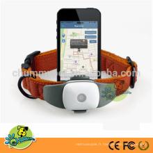 Capteurs de suivi imperméables de mini GPS pour le suivi de chiens GPS avec la carte de Google