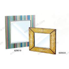 Espelho colorido para decoração de casa