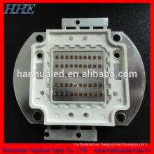 100 w IR 810nm de alta potencia led array