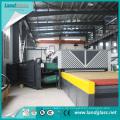 Ld-Aj-Reihe CER-Bescheinigung Zwangskonvektions-flacher Hartglas-Ofen für verstärktes Gebäude-Glas
