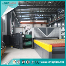 Toughened Glass Manufacturing Machinery with Flat Tempering Section