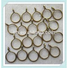 Высококачественные металлические кольца для шторок занавеса - 35 мм - Матовая сталь
