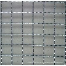 Malla de alambre prensada / acero inoxidable / Pvccoated