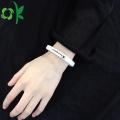 Pareja de gama alta de deportes de silicona Power / Energy Bracelets