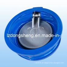 Válvula de retenção de balanço de disco único de wafer