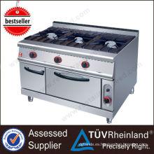 2017 Hot Sale Restaurant Equipment Cocina de gas comercial