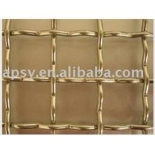 treillis métallique tressé de cuivre