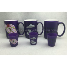 15oz Neon Color Mug, Purple Color Ceramic Mug