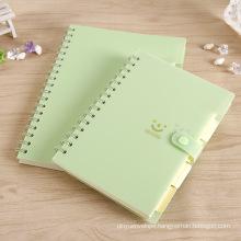 PVC Spiral Notebook Stationery Custom Notebook Printing