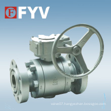 Forged Steel Trunnion Mounted Ball Valve