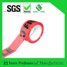 Ruban d'emballage imprimé de logo personnalisé de haute qualité