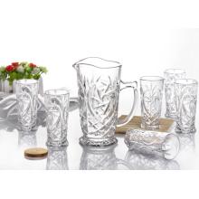Ensemble de boissons en verre gravé à eau 7PCS (GB12038)