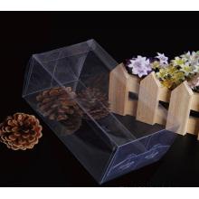 Cajas plásticas transparentes claras baratas del precio de fábrica (caja del PVC)
