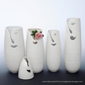 B109 Vaso da decoração da flor da porcelana do projeto creativo para o hotel