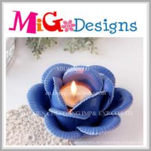 Keramische Blumen-Votive Kerzenhalter