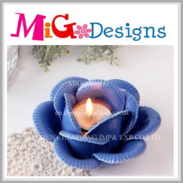 Bougeoirs votifs en gros de fleur en céramique