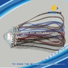 Cadeia de óculos com várias cores