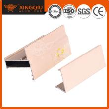 Proveedor de perfiles de aluminio de China, fabricación de extrusiones de aluminio