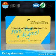Imprimindo o cartão do vale-oferta da sociedade da listra magnética / cartão VIP da lealdade