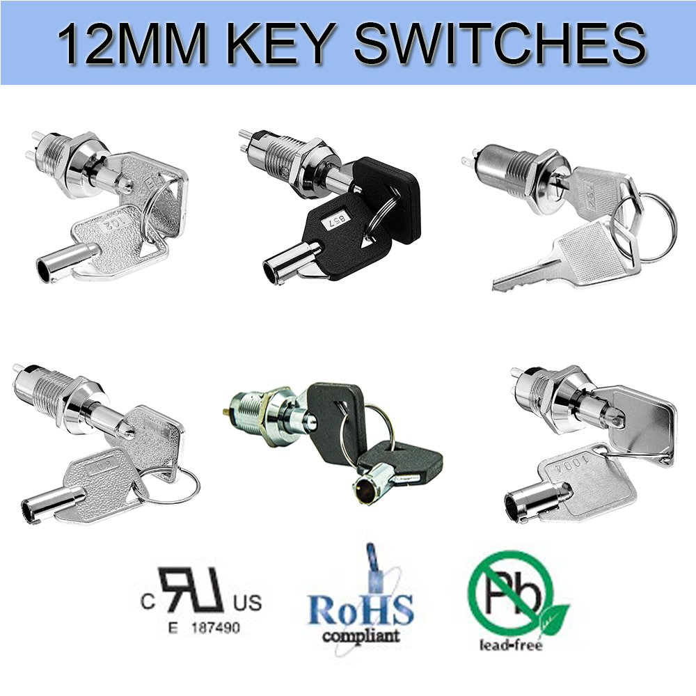 Electric key switches