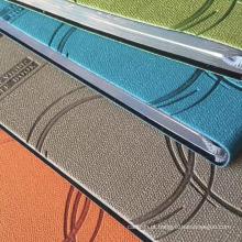 linho padrão PU couro para capa diário