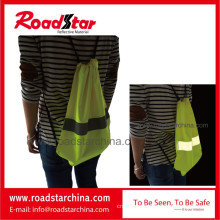 Waterproof 100% polyester reflective shopping bag
