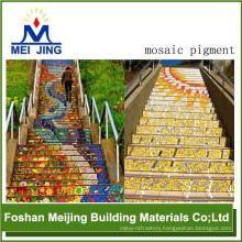 high quality pigment powder encaustic cement floor tiles for mosaic