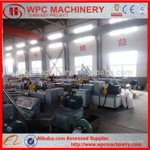 WPC Möbelbrett, der Maschine / PVC und Holz zusammengesetztes Brett bildet Maschine bildet