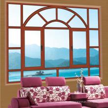 Feelingtop Aluminium Cladding Wood Tilt Turn Window (FT-AW90)