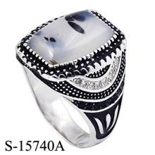Anel da jóia fina da prata 925 esterlina para o homem