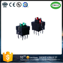 Interrupteur Tactile Haute Qualité 7.5 * 8.7mm Aucun Commutateur Couvercle (FBELE)