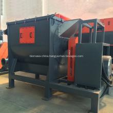 Horizontal centrifuge dewatering machine