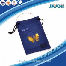 Microfiber Embroidery Mobile Phone Pouch