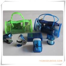 Artigos de papelaria da caixa do PVC para o presente relativo à promoção (OI18010)
