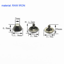 12mm Single-Headed Rapid Rivet Truncated-Cone Type