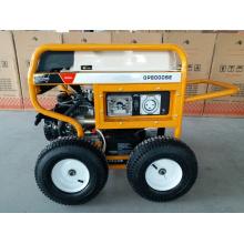 Groupe électrogène à essence portative de 7500 Watts avec RCD et 4 roues pneumatiques pneumatiques X (GP8000SE)