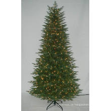 Realist Künstlicher Weihnachtsbaum mit String Licht Multi Farbe Incandencent Dekoration (AT2121)