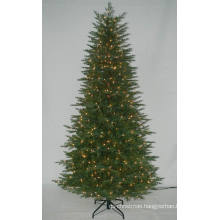 Realist Artificial Christmas Tree with String light Multi Color Incandencent Decoration (AT2121)