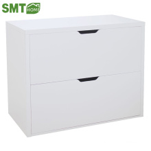Modern white cheap wood storage drawer cabinet