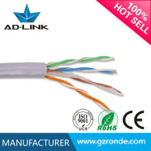 Cableado eléctrico 26AWG cat5e cable 300m cable del LAN del cat del utp cat5e