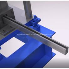 Rolo do canal do suporte do CNC que forma a linha