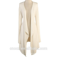 15STC6703 bamboo ladies drape cardigan