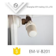 EM-V-B201 Automatisches thermostatisches Messingwinkel-Heizkörperventil