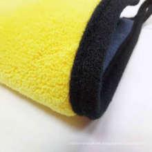 Top Sale Yellow Microfiber towel 800 gsm car wash drying towel nanotech cloth