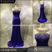 2016 Novo design de alta qualidade fábrica da China fez vestido de noite quente